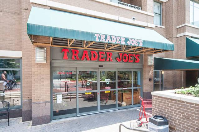 How conveeeenient...Trader Joe's Grocery right across the street