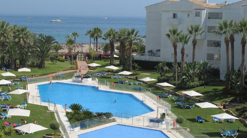The tropical gardens of Playa Rocio with private access to the amazing beaches of the golden mile.
