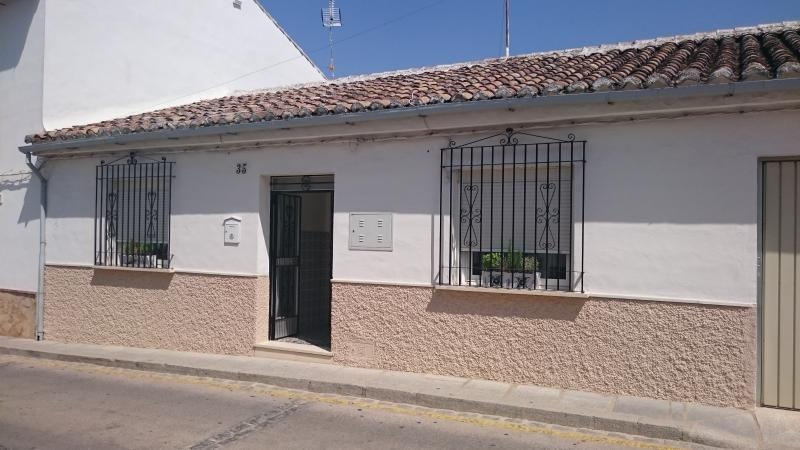 The front of Casa Antequera, awaiting your arrival.