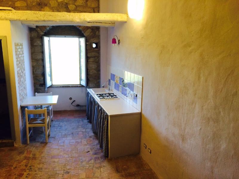 S1 Etage Küchenzeile / Küchenecke Studio im Erdgeschoss