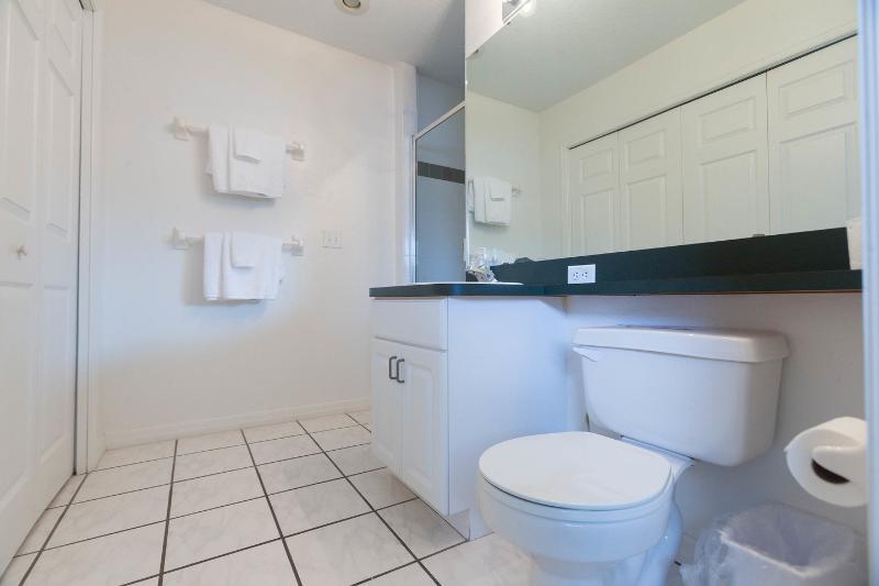El doble reina dormitorios y dos baños