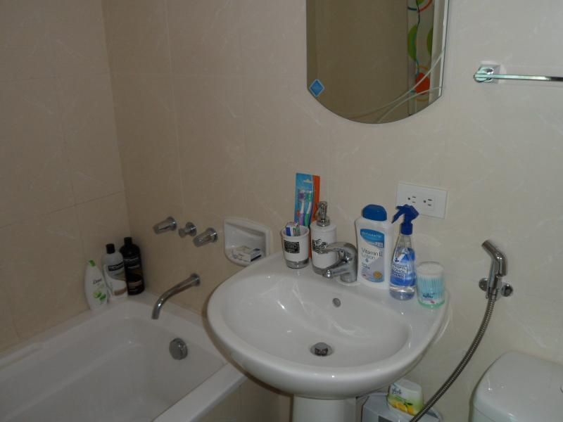 En-suite bathroom comes with bath and shower