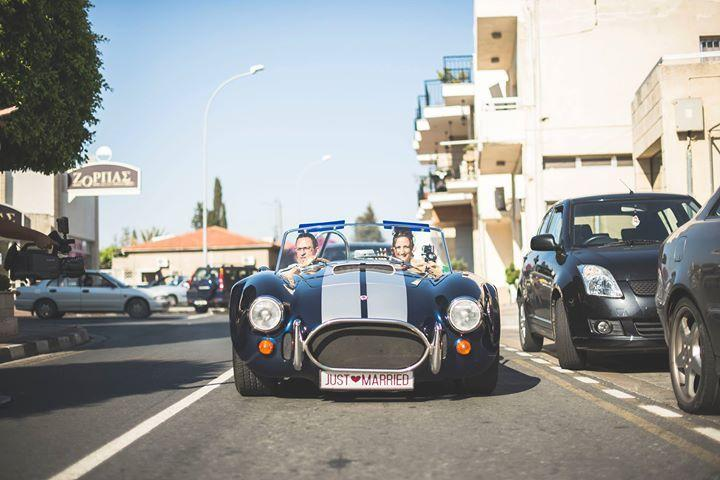 Ac Cobra available at the hotel to a drive around Ayia Napa