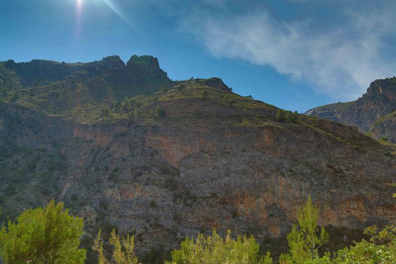 Marcher dans la Sierra Nevada