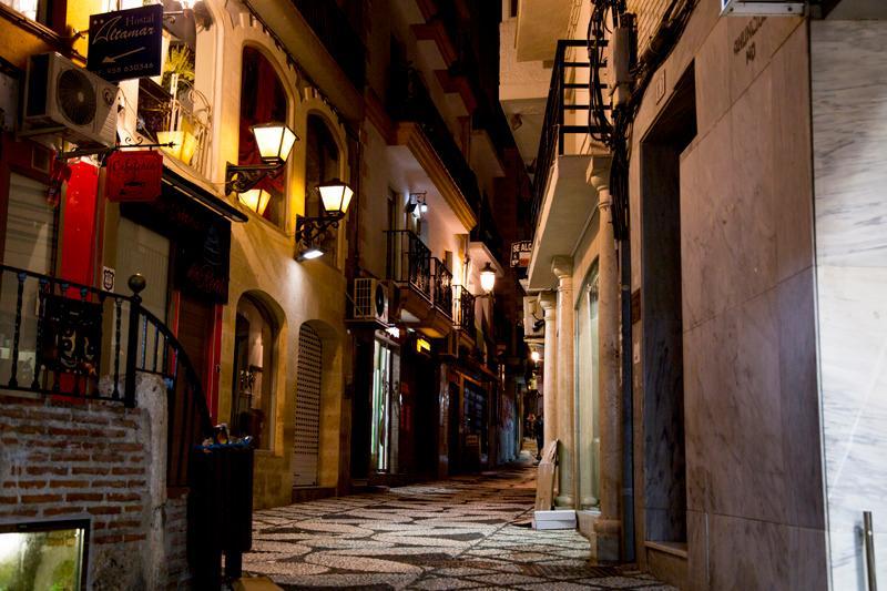 Almunecar gamla stan