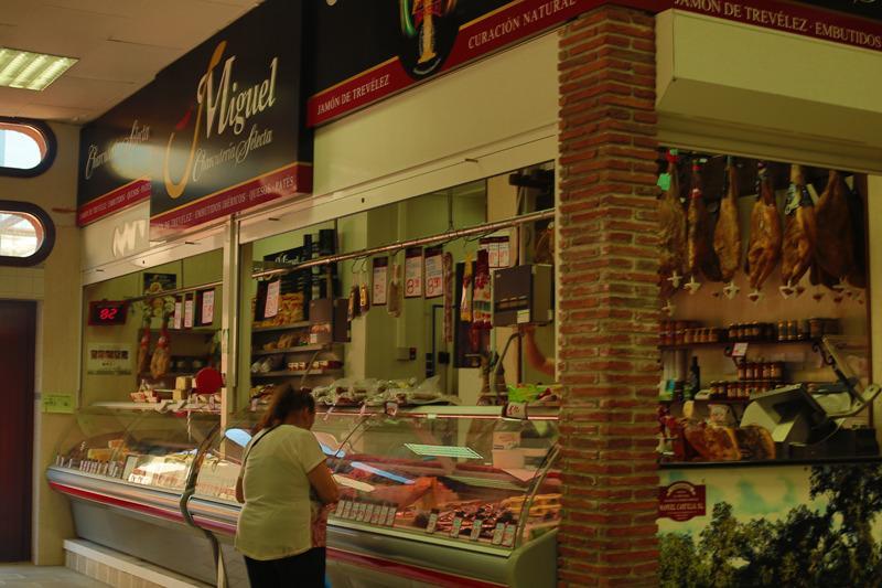 Lokala spanska marknaden