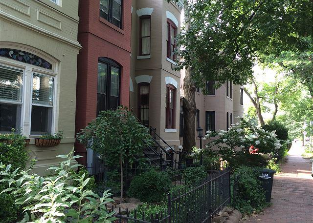 Stately brownstones