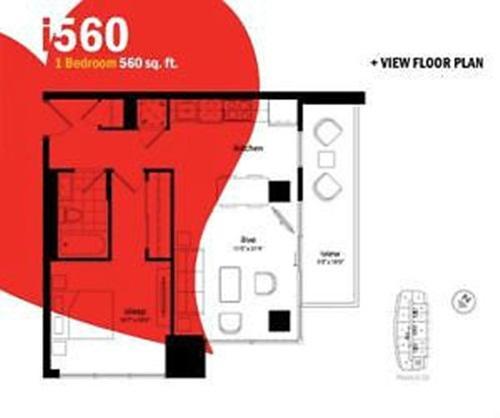 1 Bedroom FURNISHED  LOFT, vacation rental in Toronto