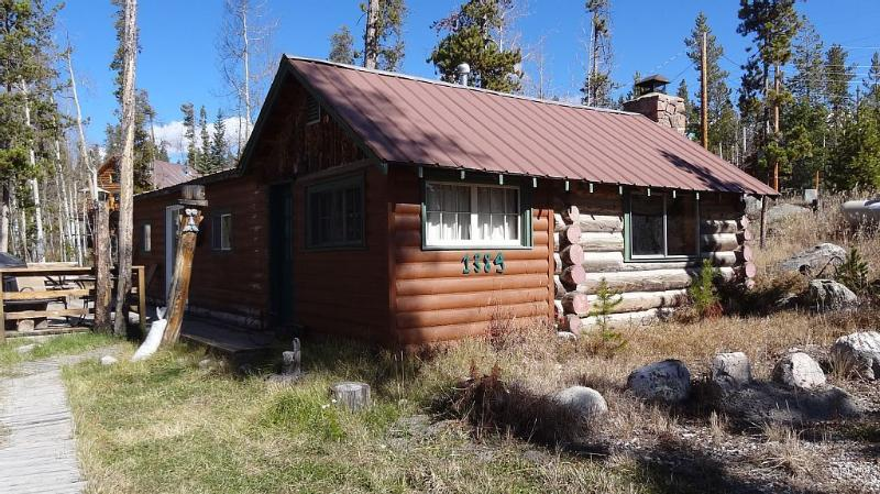 Two bedroom, one bath cabin.
