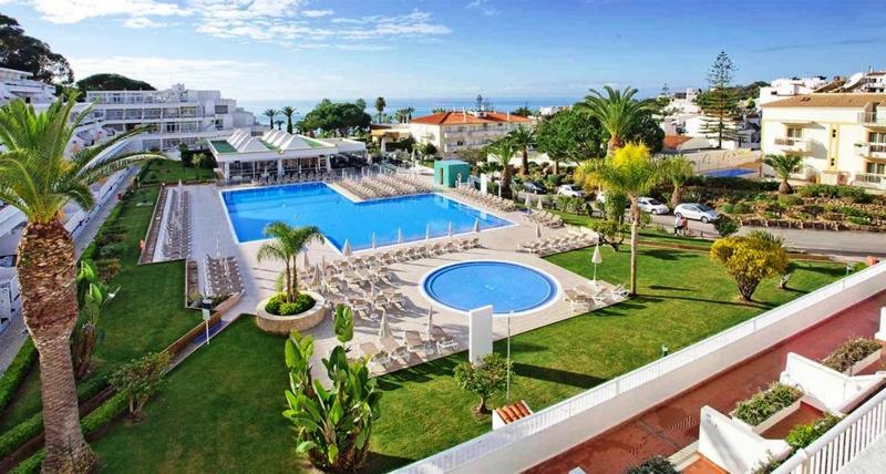 Clube Praia da Oura main pool and childrens pool