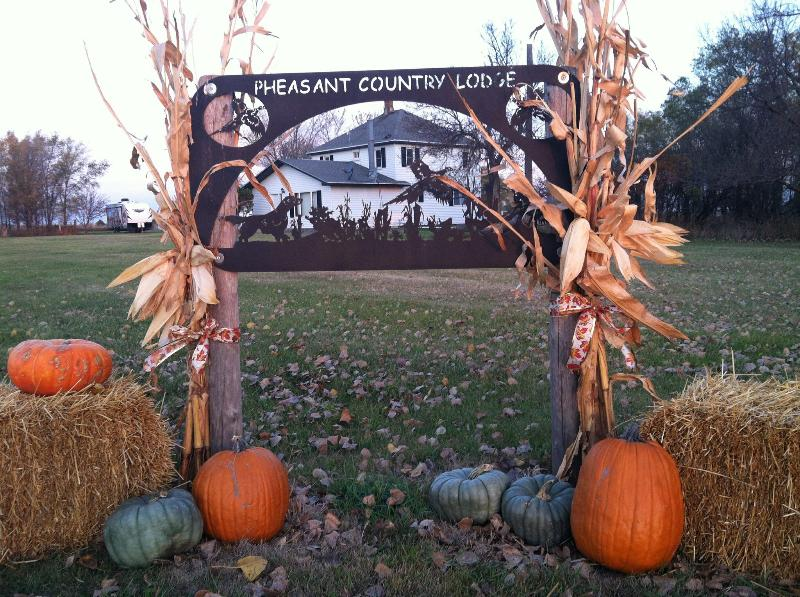 Pheasant Country Lodge and Lake House and Man Cave, holiday rental in Redfield