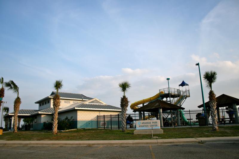 Aquatic Center has adult & kids pools, waterslides & lots of fun!