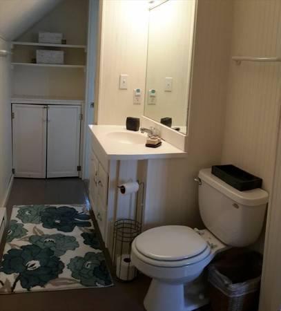 Salle de bains à l'étage