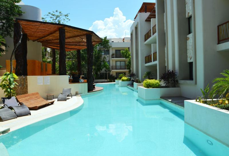 Amazing pool at less than 3 meters from your terrace!