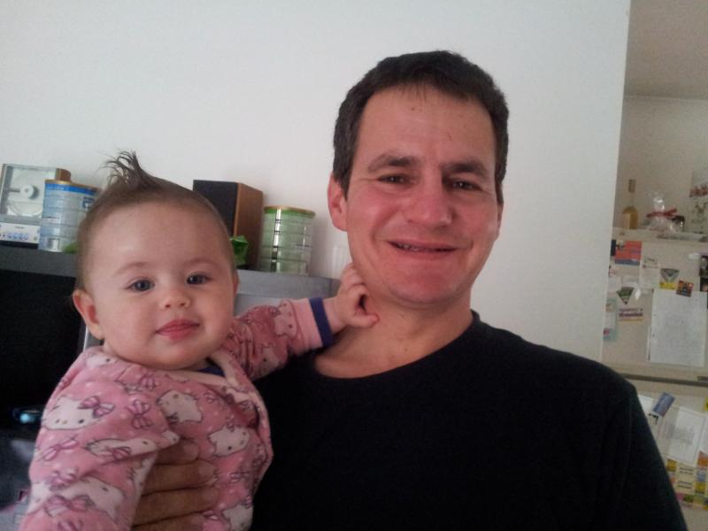 Me and my daughter. You can contact me in English, Hebrew and Hungarian