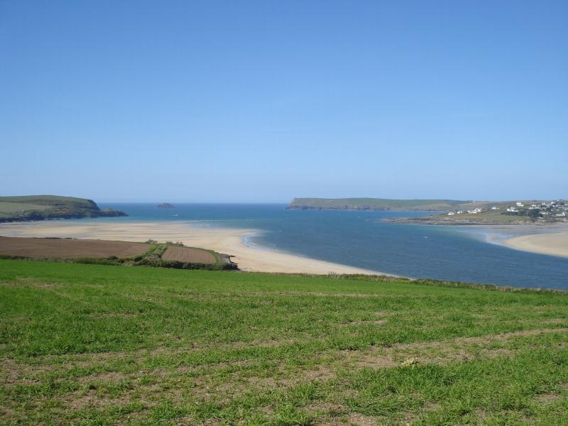 Padstow Estuary and beach