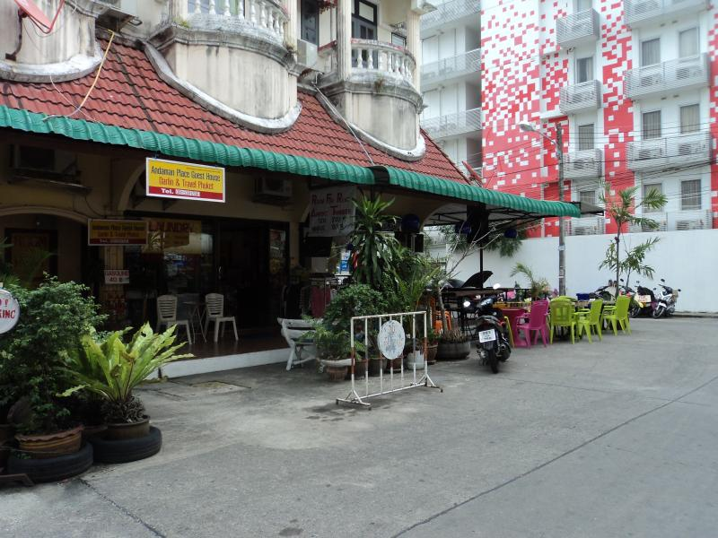 Main Entrance of Andaman Place Guesthouse