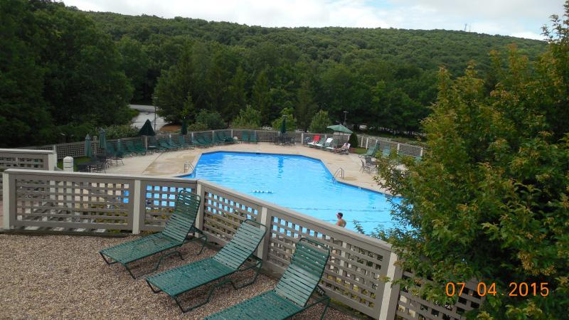 Wintergarden outdoor pool
