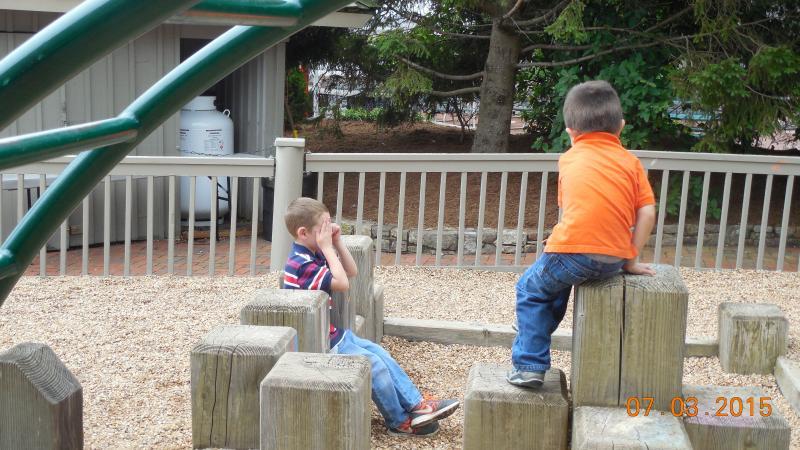 playground area at Kid's Tree House park