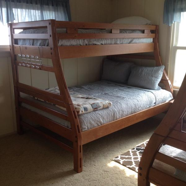 2 captains bunk beds-