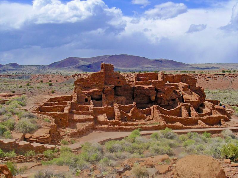 Wupatki Anasazi Ruins - 25 scenic mi. from Flagstaff.