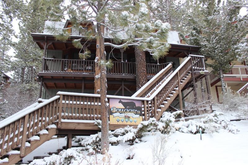 Invierno frente de cabina