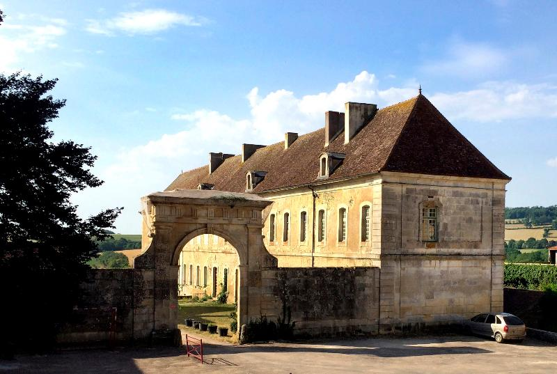 l'entrée du site de l'Abbaye