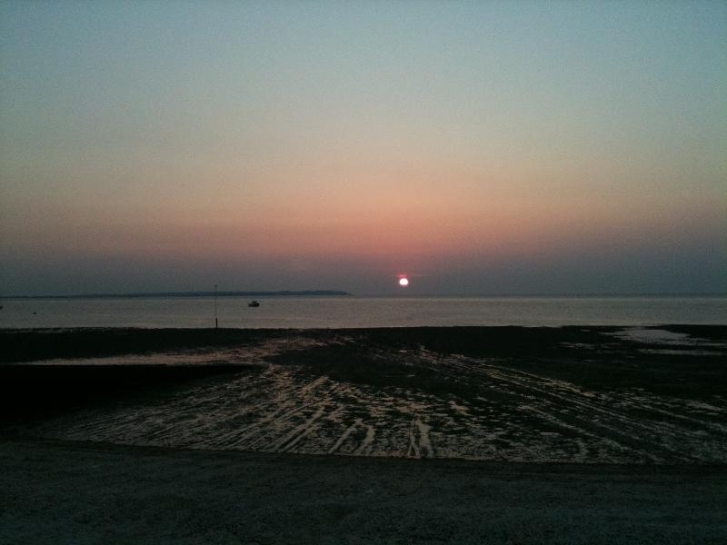 Enjoy a Whitstable sunset... just a short walk from Heron House and you're on the beach!
