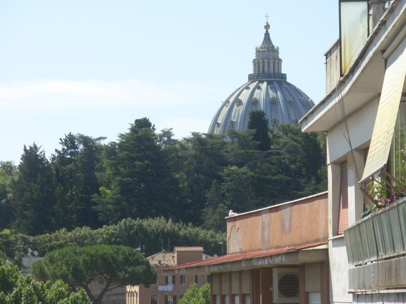 S.Pietro (vista dal balcone dell'appartamento)
