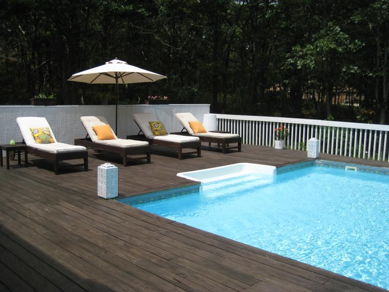 Outdoor Lounging by the Pool