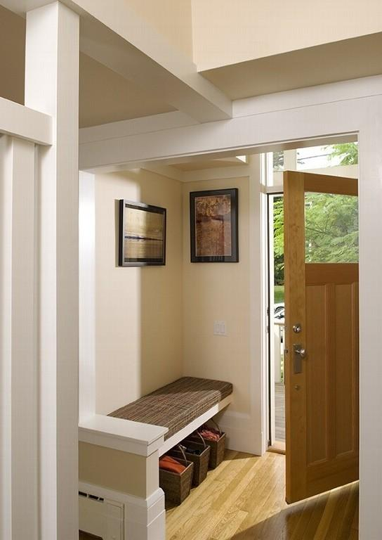 Sunny front entry