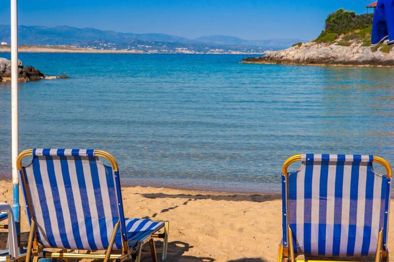Tersanas sandy beach