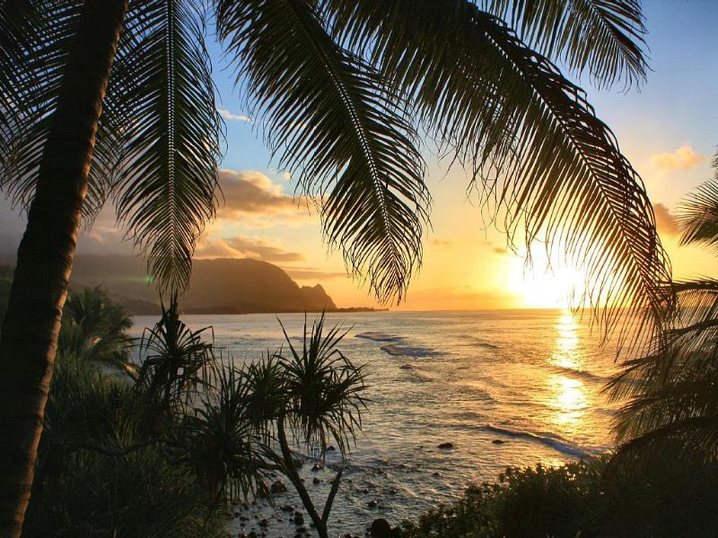 Sunset of Bali Hai