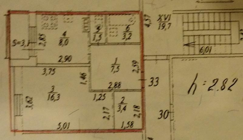 The plan of the property