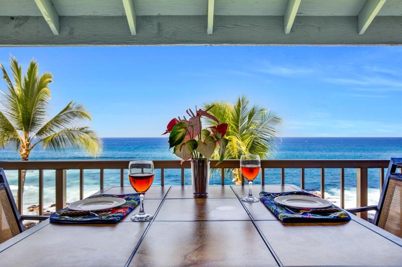 Enjoy Your Meals From Your Lanai