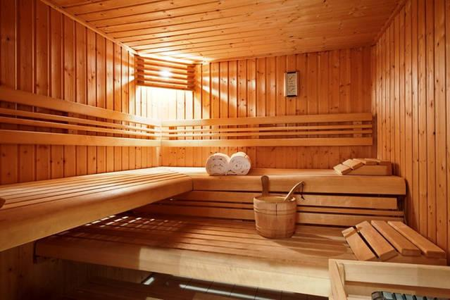 Villa Stefani - Sauna - A great way to sit back and relax after a long day.