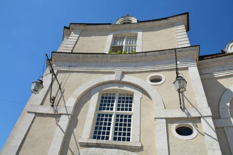 La façade du gîte de Commercy