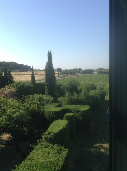 View from guest room window