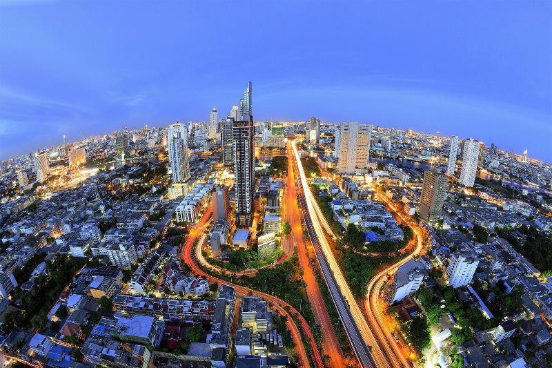 One of the best view in Bangkok from my Apartment