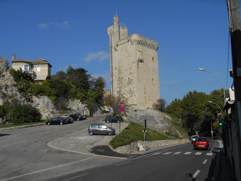 the Tower philippe the Bell in the commune of villeneuve Avignon 1 km from the House.