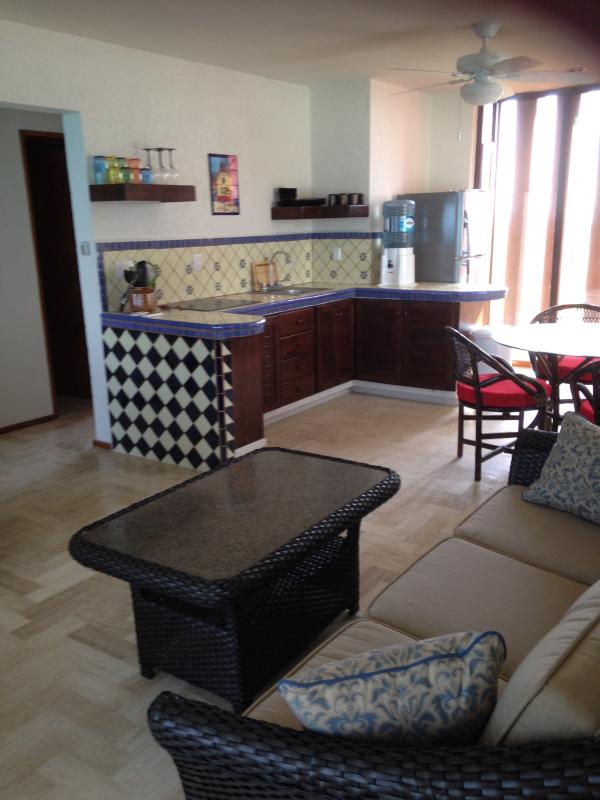 Kitchen From Sofa