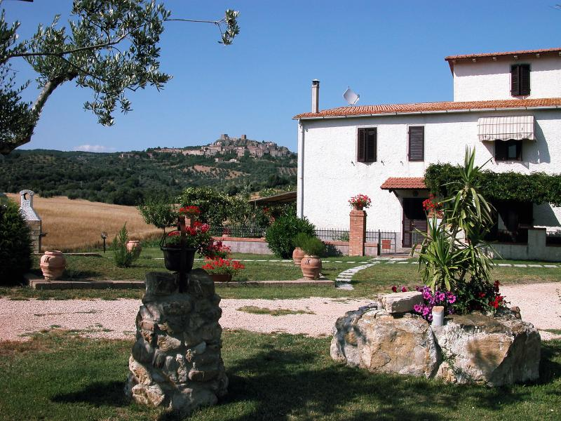 La rosa dei venti nel  Podere Ristella, location de vacances à Sticciano Scalo