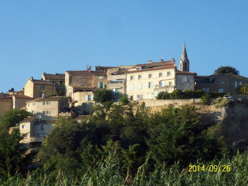my hometown: Les Angles perched on the Hill have seen windows of the House.