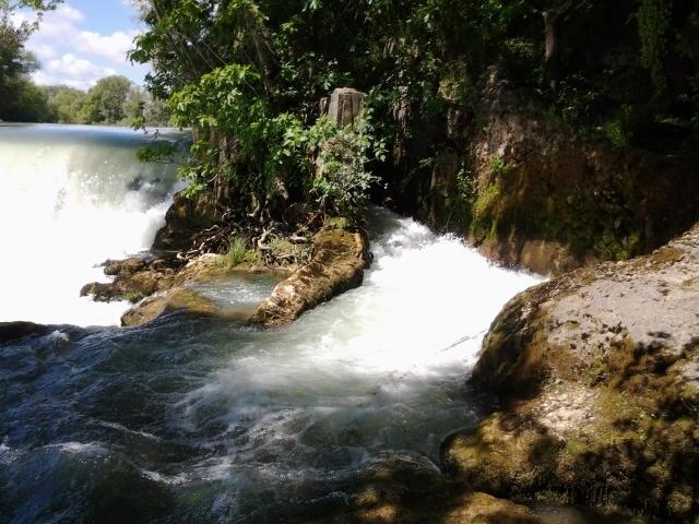 Wasserfall im Manavgatfluss