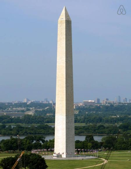 The Washington Monument -10 Minutes Away
