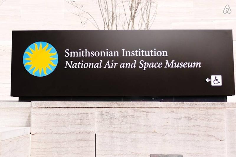 The National Air and Space Museum -11 Minutes Away