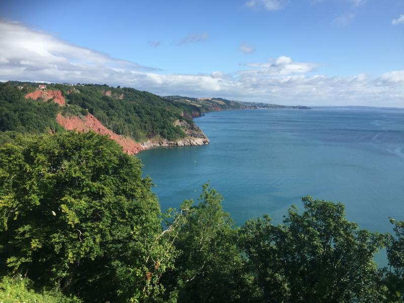 picture taken from babbacombe downs, 5 minute walk away