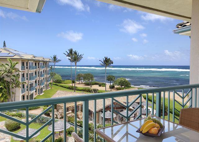 H404 -  Top Floor OCEANFRONT PENTHOUSE **AC** Resort Pool & Restaurant, location de vacances à Kauai