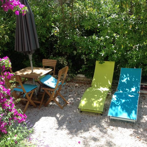 CASSIS - Appartement avec jardin et parking, holiday rental in Cassis