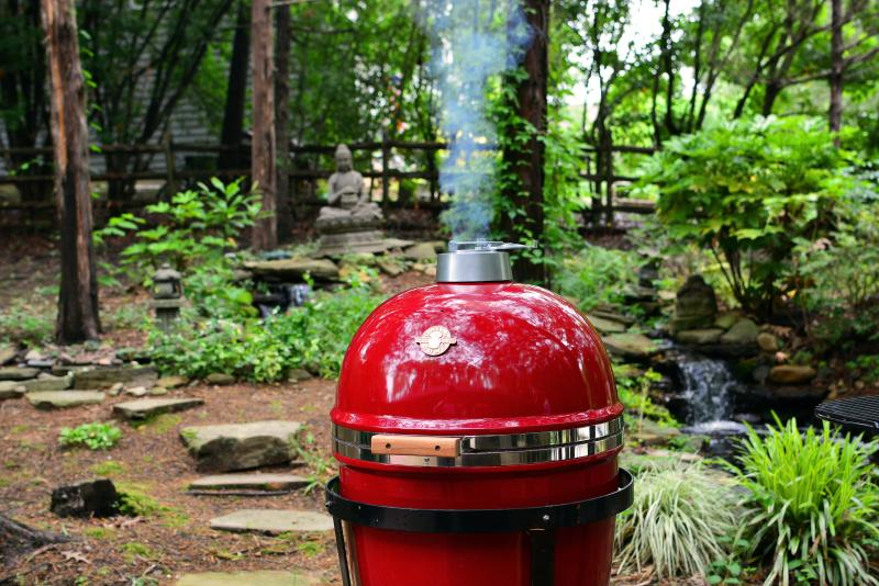 Enjoy one of two grills available for you to use.  Use this Grill Dome, or the brand new gas grill.